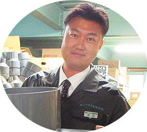 管工機材2課 課長 河北  友浩