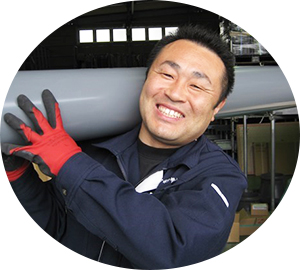 総務課 物流係 係長 柴田  弥靖